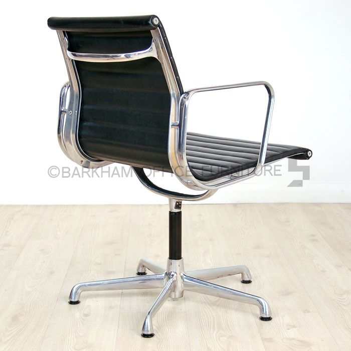 Charles Eames Leather Meeting Chair